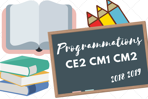 Mes Programmations 2018 2019 Maitresse De La Forêt