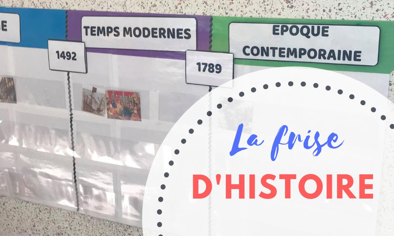 Affichage De Classe La Frise Historique Maitresse De La