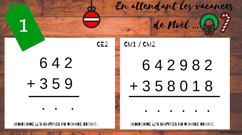 Calendrier De Lavent Cm.Calendrier De L Avent Ce2 Cm1 Cm2 Maitresse De La Foret