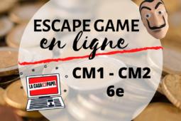 Escape game en ligne Cycle 3