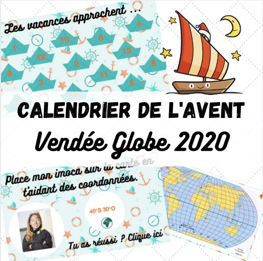 Calendrier de l'avent   Vendée Globe 2020 | Maitresse de la forêt